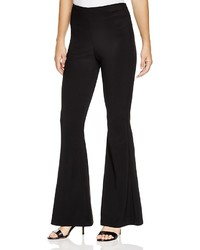 Aqua Flared Stretch Jersey Pants