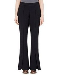 Marni Flared Wide Leg Pants Black