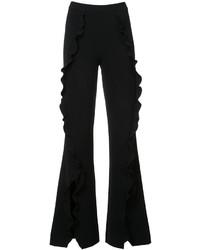 Saloni Frill Flared Trousers