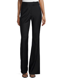 Derek Lam 10 Crosby High Waist Flare Pants Black