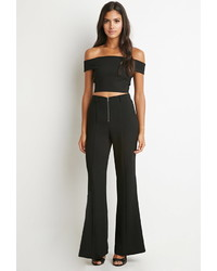 Forever 21 High Waist Flared Pants