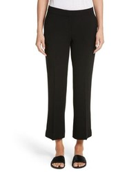 Lafayette 148 New York Manhattan Finesse Crepe Crop Flare Pants