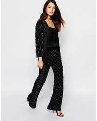 French Connection Pearl Cage Flared Pant