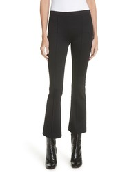 Helmut Lang Ribbed Crop Flare Leggings