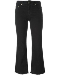 Roberto Cavalli Cropped Flared Trousers