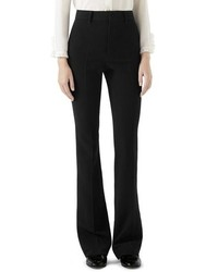 Gucci Stretch Cady Skinny Flare Pants