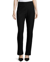 Eileen Fisher Stretch Crepe Boot Cut Pants Plus Size