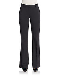 Theory Brinton Virtuous Stretch Wool Flared Trousers