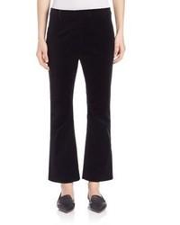 Frame Velvet Crop Flare Pants