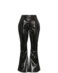 Beaufille Veritas Kick Flare Vinyl Trousers Unavailable