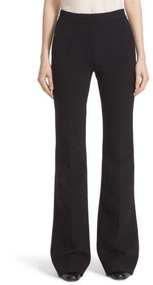 Victoria Beckham Victoria Victoria Wool Blend Flare Pants