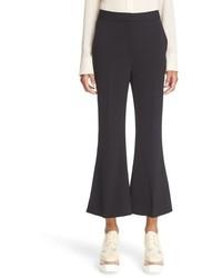 Stella McCartney Wool Crop Flare Trousers