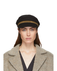 Rag and Bone Black Fisherman Cap