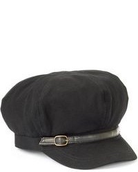 Croft Barrow Canvas Newsboy Hat