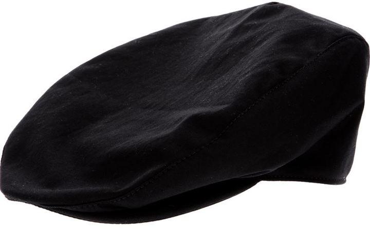 Flat Cap. Black Flat Cap by Dolce   Gabbana 87fe8d4a0d7