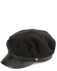 Genie By Eugenia Kim Faux Leather Trimmed Cap