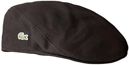 20bcd718ce ... Lacoste Pique Cotton Flat Cap