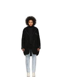 MM6 MAISON MARGIELA Black Sartorial Oversized Coat