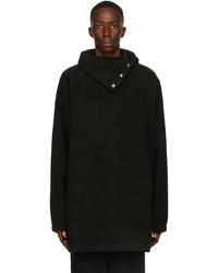 We11done Black Fleece Buttoned Neck Jacket