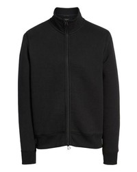 Black Fleece Zip Sweater