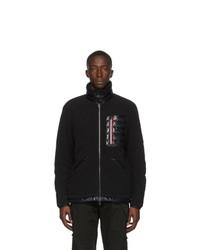 Moncler Black Down Sciablese Giubbotto Jacket