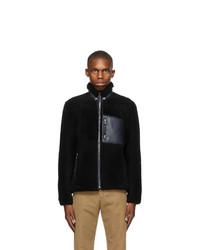 Loewe Black Shearling Jacket