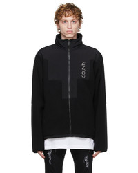 Marcelo Burlon County of Milan Black Stellar Pile Jacket