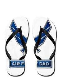 Artsmith Inc Flip Flops Air Force Dad