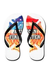 Artsmith Inc Flip Flops American Firefighter