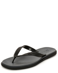 Salvatore Ferragamo Flip Flop Sandal Black