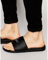 Lacoste Fraisier Croc Slider Flip Flops