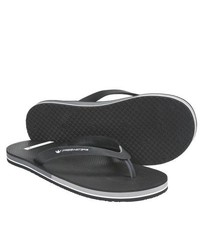 Freewaters Friday Sandals Flip Flops Black