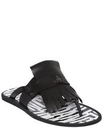 Vivienne Westwood Fringed Jelly Flip Flops