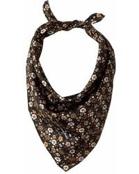 Marc Jacobs Floral Bandana Scarves