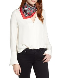kate spade new york Floral Park Silk Bandana