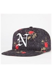 Neff Snoop Dogg Allover Floral Snapback Hat