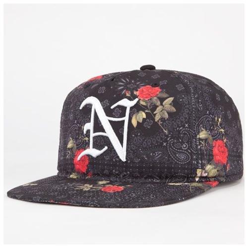 b0c26dc69eb ... Neff Snoop Dogg Allover Floral Snapback Hat