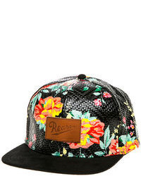 Reason The Woven Floral Snapback Hat