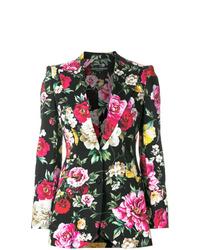 Dolce & Gabbana Floral Print Blazer