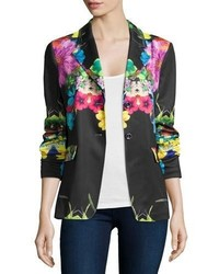 Berek Flower Pop Two Button Jacket