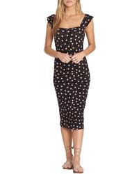 Billabong Share Love Body Con Midi Dress