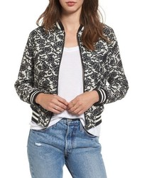 Addie floral brocade bomber jacket medium 4470758