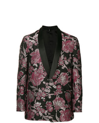 Christian Pellizzari Brocade Flower Blazer
