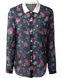Floral blouse medium 156704