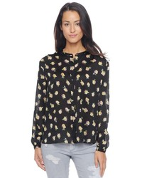 Juicy Couture True Rose Printed Blouse
