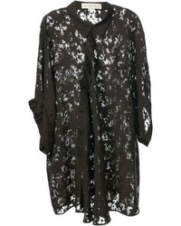 Stella McCartney Sheer Floral Blouse
