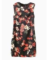 Choies black rose bodycon dress medium 46141
