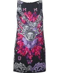Versace Medusa Print Shift Dress