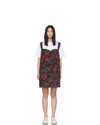 Marni White And Multicolor Amarcord T Shirt Dress