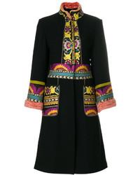 Etro Embroidered Cardi Coat